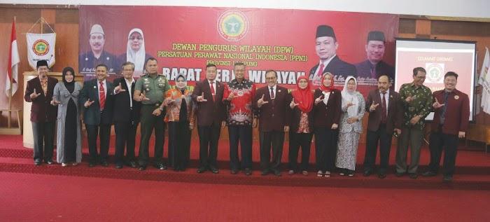 Gubernur Ridho Ajak PPNI Tingkatkan Kompetensi dengan Sertifikat Keahlian