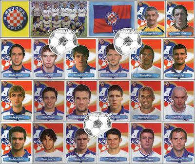 Hajduk Split sličice album Nogomet 2006/07