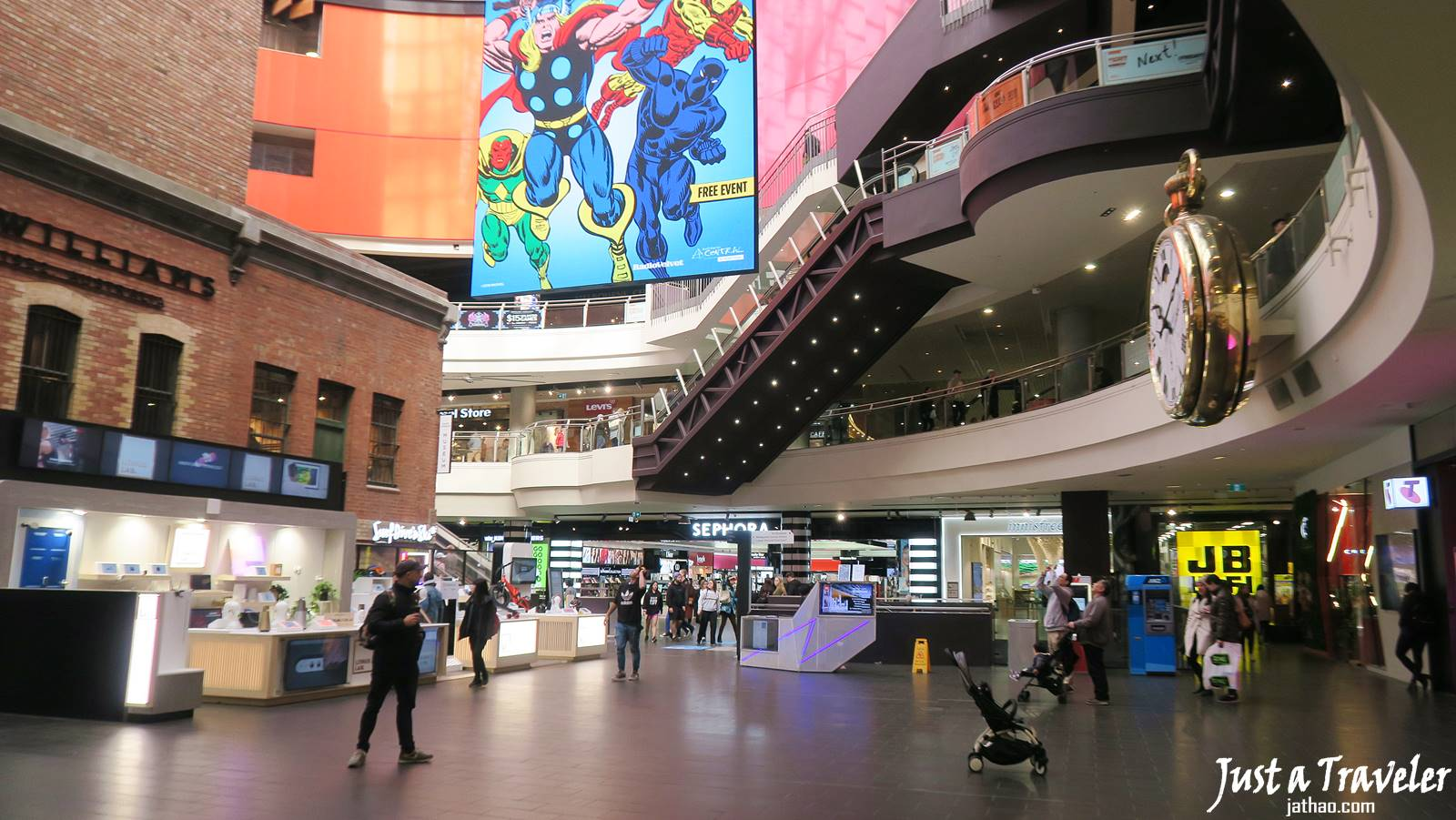 Melbourne-Melbourne Centre-CBD-Attraction-Recommendation-Map-Itinerary-Tourism-Independent Travel-Travel Blog-Must visit-Must See
