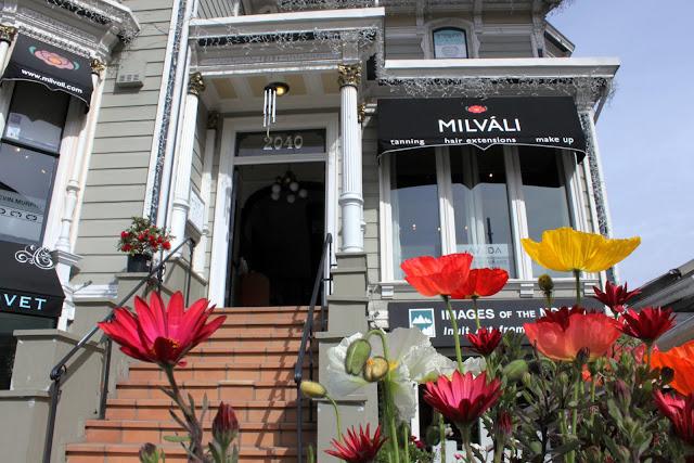 Milvali Salon, San Francisco CA