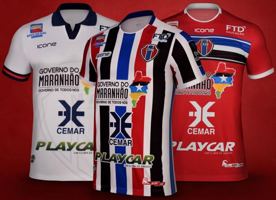 0b3421cf7e Ícone Sports apresenta as novas camisas do Maranhão - Show de Camisas