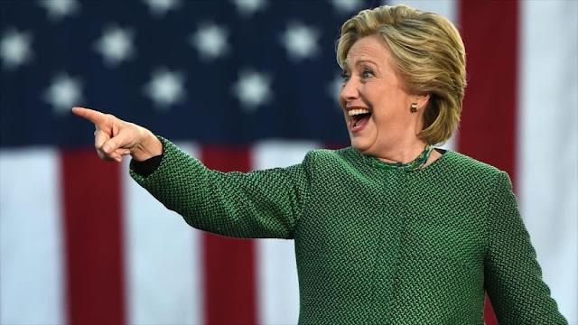 "Clinton llama a Trump un ""mal perdedor"""