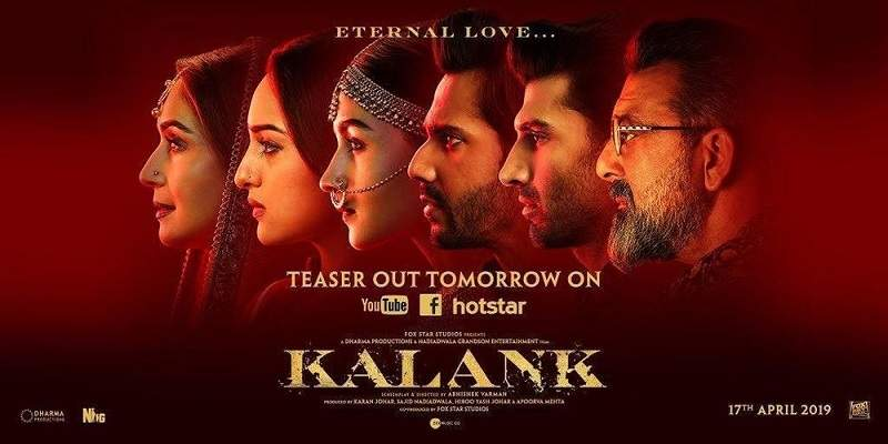 Kalank Box Office Prediction Poster