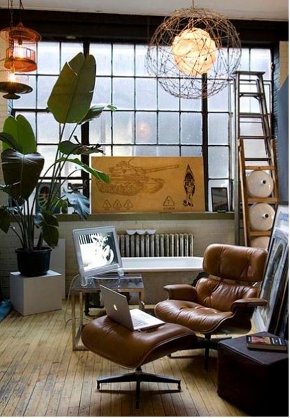 Moon To Moon Eames Lounger Chair