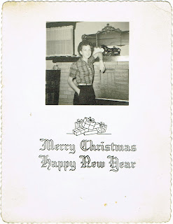 Mabel Gosline Christmas 1952 greeting card