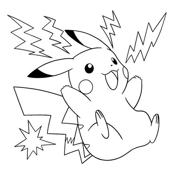 Tranh tô màu Pokemon 86