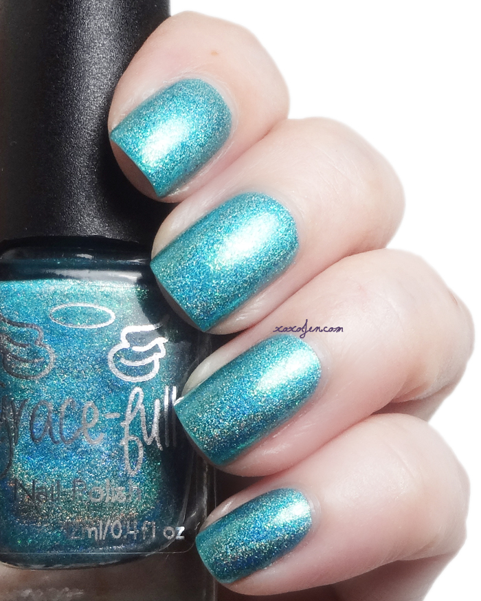 xoxoJen's swatch of Grace-Full Sunlight and Starlight