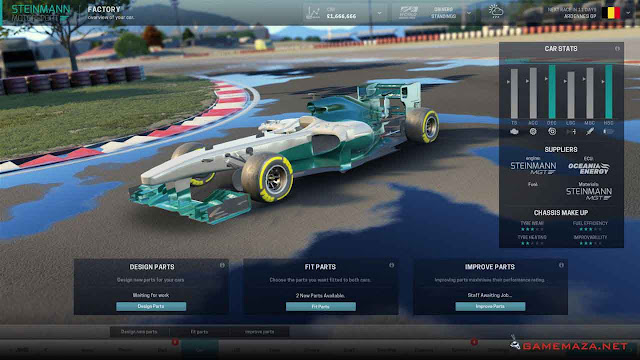 Motorsport Manager Gameplay Screenshot 2