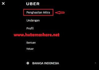 Panduan Melihat Penghasilan Mitra Uber
