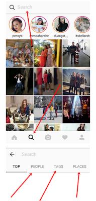 Cara Mencari atau Menemukan Orang Di Instagram dengan mudah