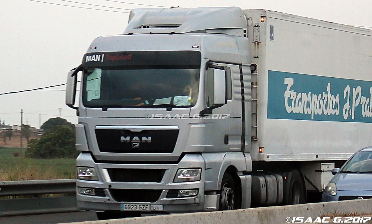 Camiones y autobuses en baleares man tgx i - Transporte islas baleares ...