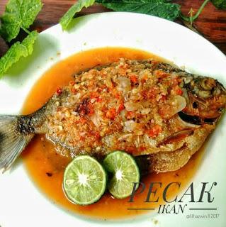 Ide Resep Membuat Pecak Ikan Bawal