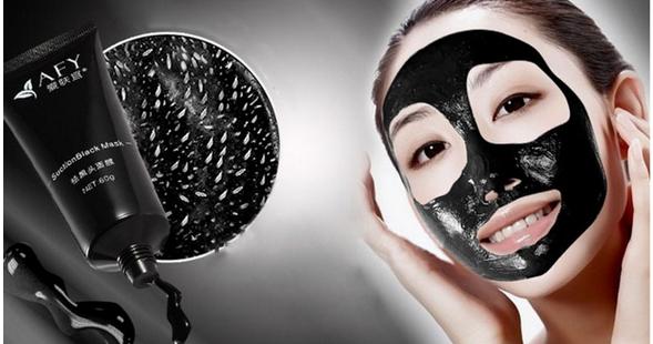 Faire sa propre masque noir contre les points noirs la maison - Masque charbon maison ...