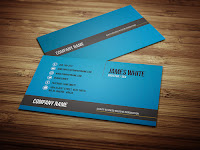 simple of business card