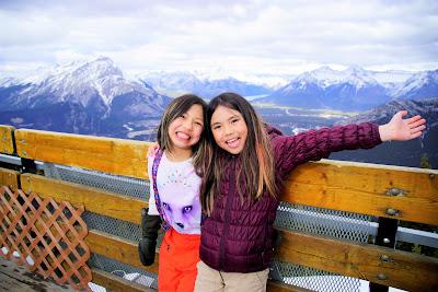 At the top of Sulphur Mountain / Banff Gondola