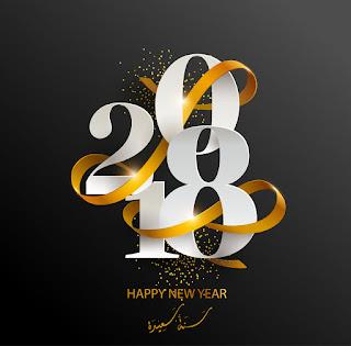 صور تهنئة راس السنة 2018 happy new year