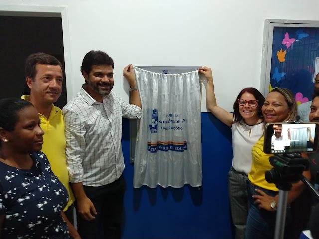 Prefeitura de SAJ renova compromisso com a Educação ao entregar 20ª escola reformada