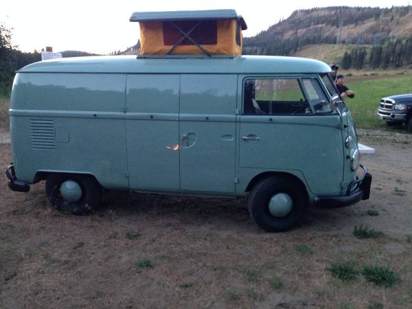 1967 VW Bus Panel Camper | vw bus wagon