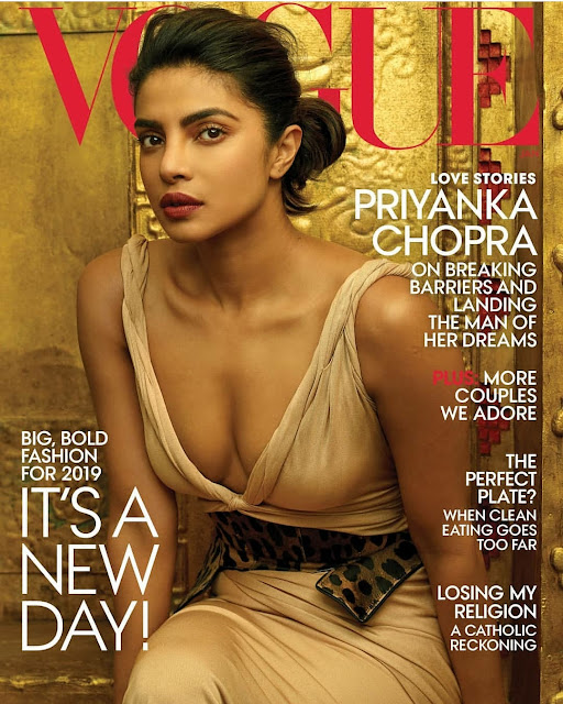 Priyanka Chopra Becomes the First Indian to be on the Vogue US Cover Jan 2019