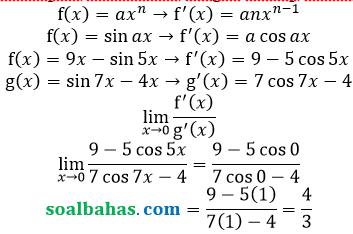 bahas limit konsep fungsi