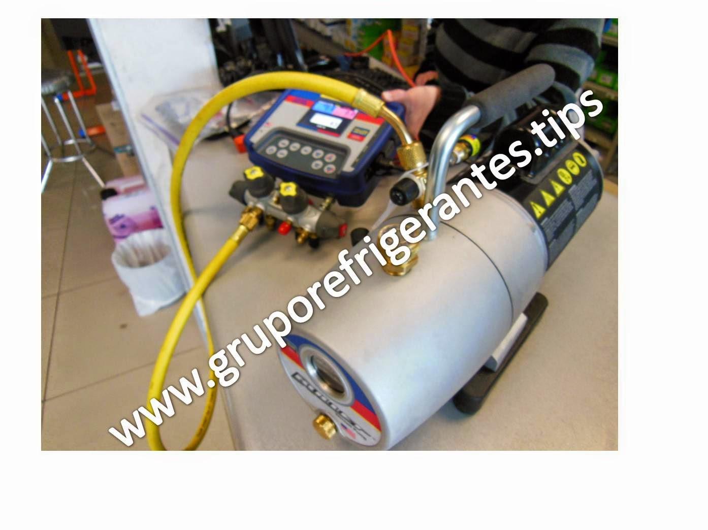 bomba para vacio refrigeracion