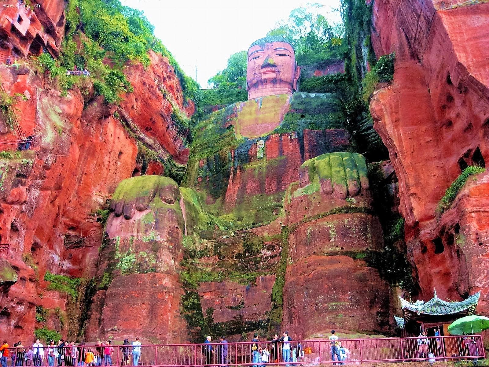 5-five-5: Leshan Giant Buddha (Leshan - China)