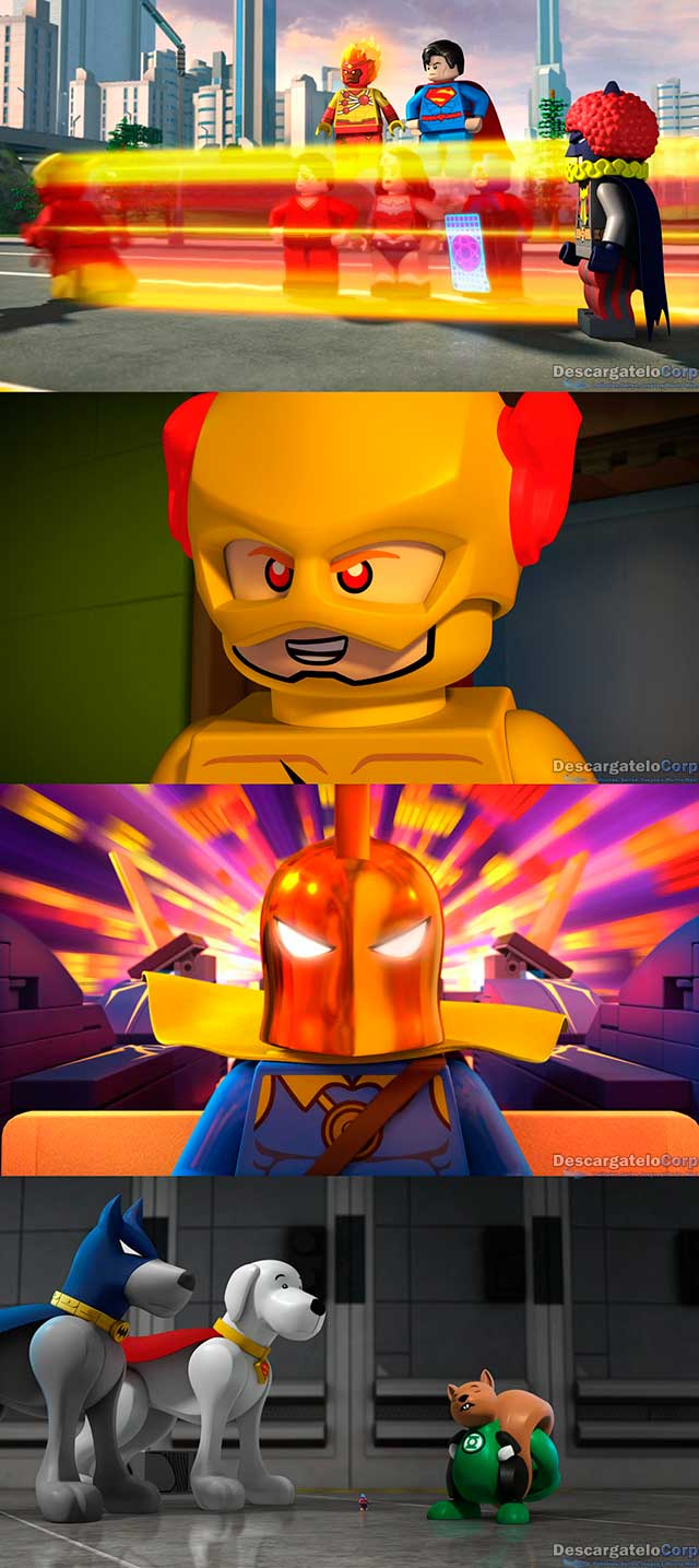 Lego DC Comics Super Heroes The Flash (2018) HD 720p Latino