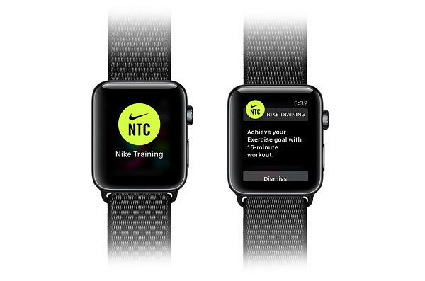 Nike Training Club app for Apple Watch released