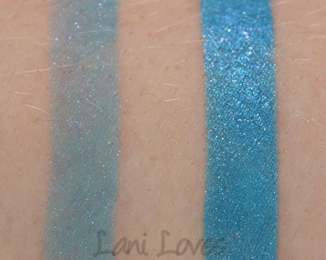 Darling Girl Cosmetics - You Make My Dreams Come True Eyeshadow Swatches & Review