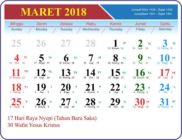 Maret 2018