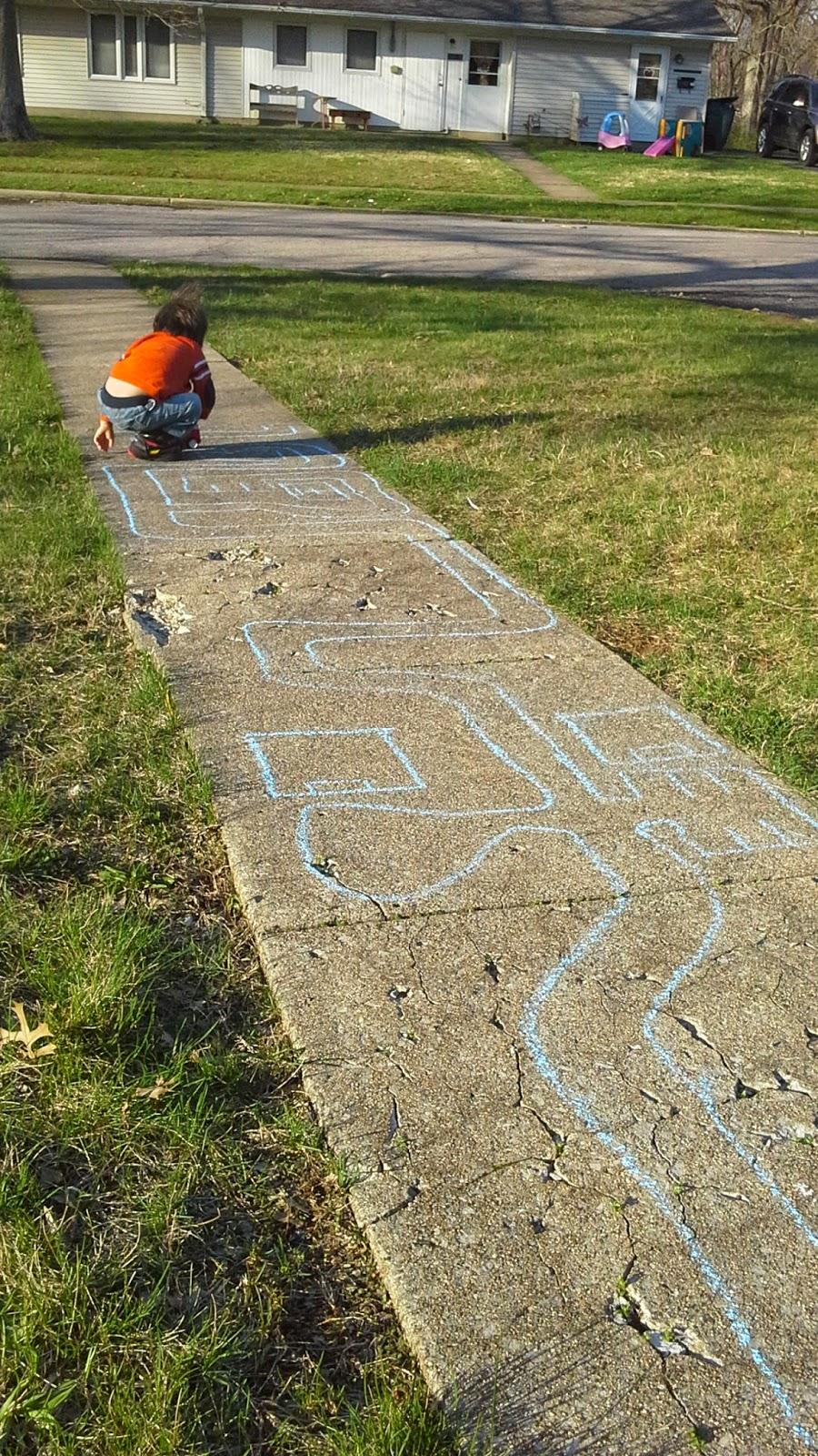 Sidewalk Chalk City