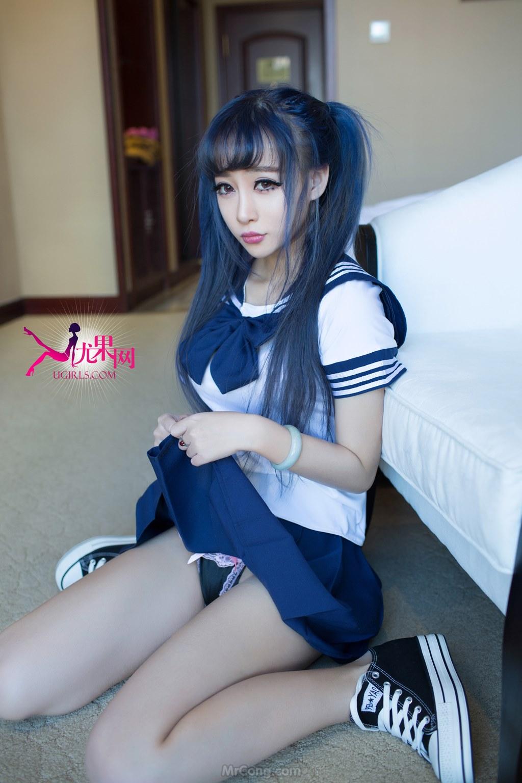 Beauty Xiao Ke Ai (小可爱) hóa thân thành nữ sinh sexy trong bộ ảnh UGIRLS 053