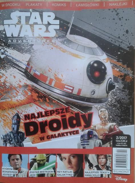 Magazyn Star Wars Adventures (2/2017) już w kioskach! (+KONKURS)