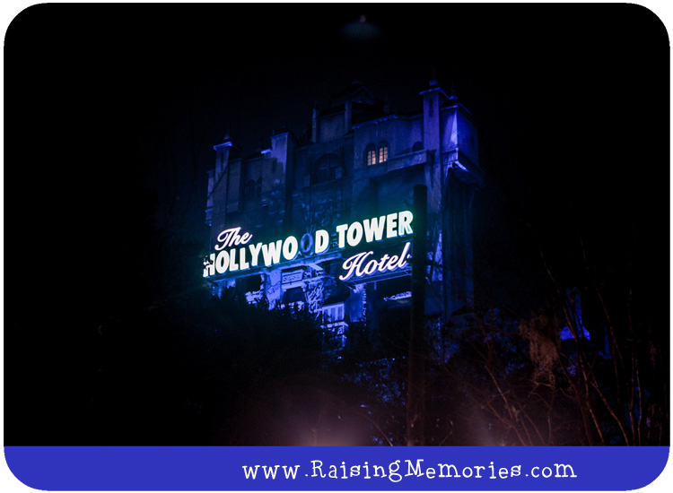 Walt Disney World Hollywood Tower Hotel Ride