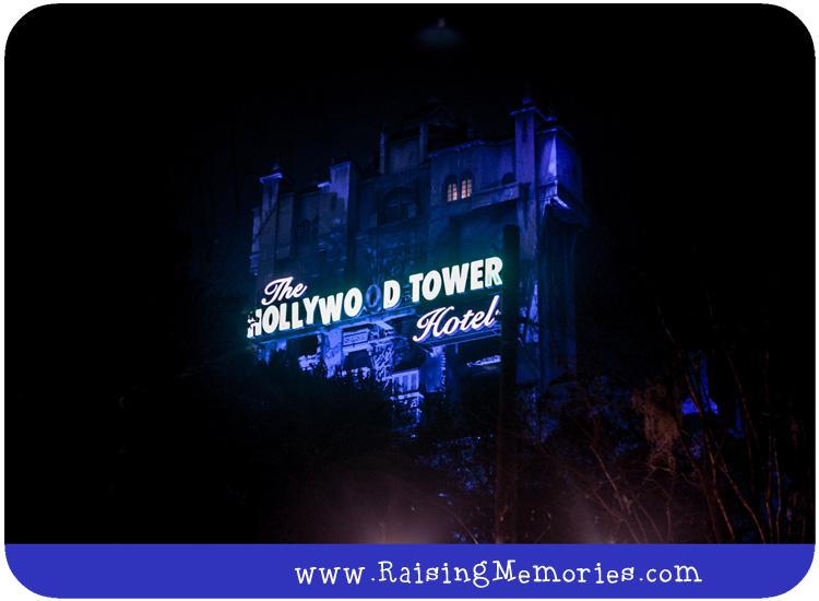 Walt Disney World Hollywood Tower Hotel Ride