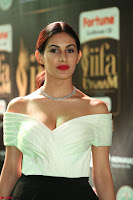 Amyra Dastur in White Deep neck Top and Black Skirt ~  Exclusive 034.JPG