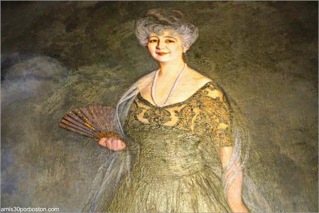 Retrato en el Salón de la Mansión Rosecliff, Newport