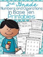 NBT- Place Value- Numbers and Operations in Base Ten Activities and Resources- Math Place Value activities