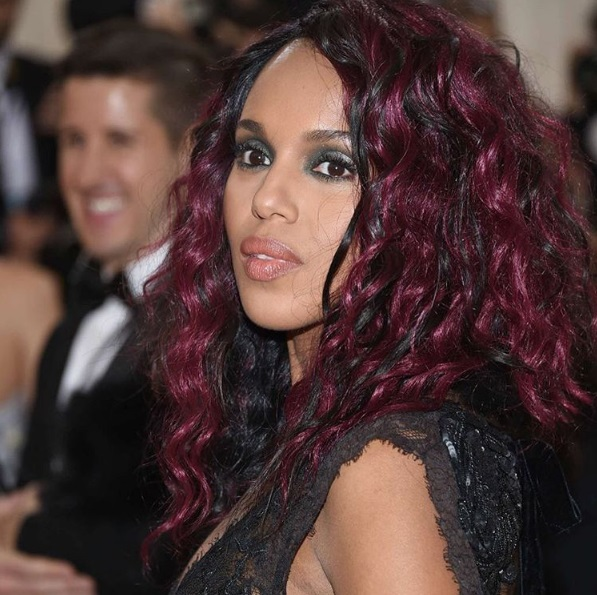 Kerry Washington At Met Gala in NYC