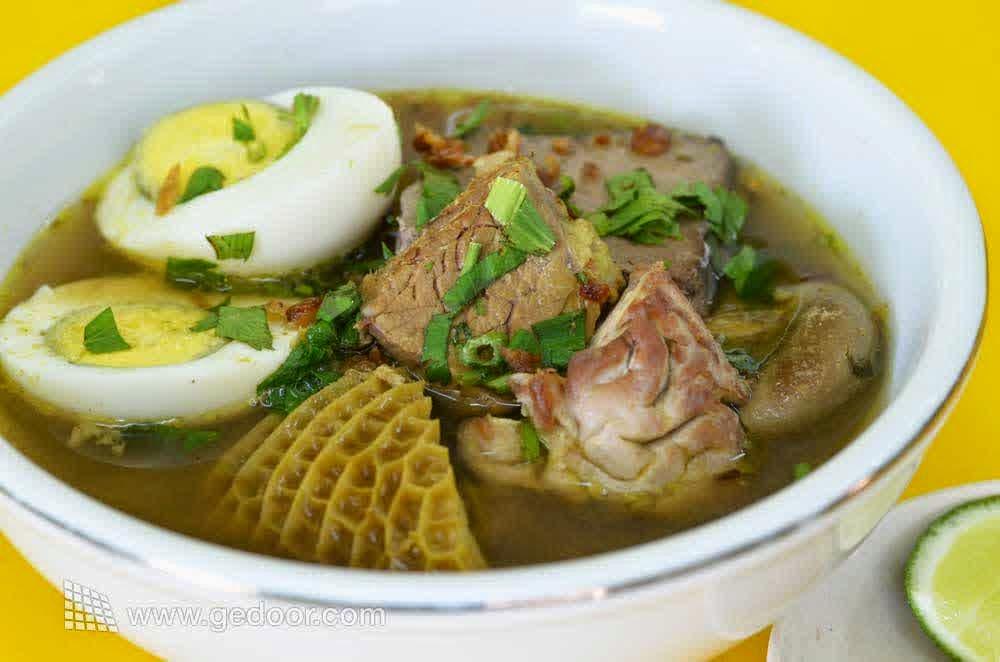 resep soto daging madura spesial