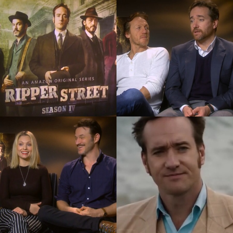 Watch: Digital Spy's Ripper Street Season 4 Matthew Macfadyen and