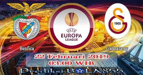 Prediksi Bola855 Benfica vs Galatasaray 22 Februari 2019