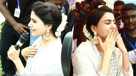 Samantha Launch at SKLS Galaxy Mall Chennai