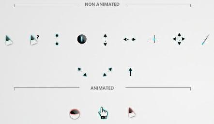 Glo cursor scheme
