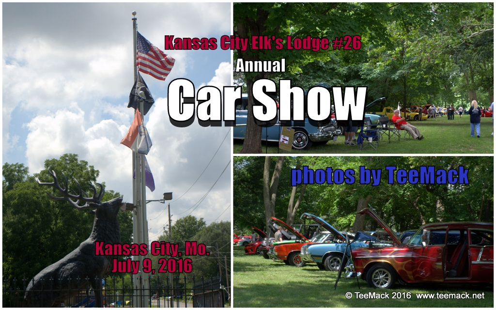 TeeMacknet Kansas City Elks Lodge Car Show - Car show kansas city