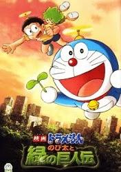 Nobita Và Người Khổng Lồ Xanh - Doremon Nobita Và Người Khổng Lồ Xanh Thuyết Minh 2012 Poster
