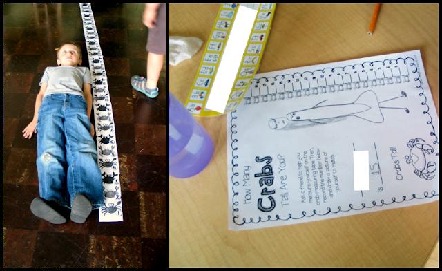 First Grade Ocean Activities