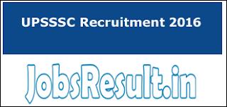 UPSSSC Recruitment 2016 Gropu C Clerk Notification