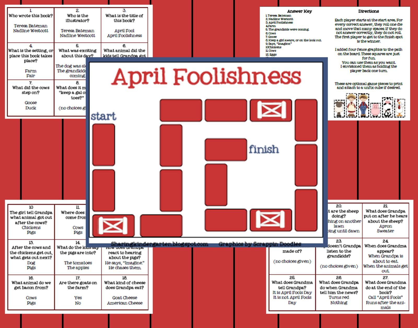 Classroom Freebies Too Math Word Problem Game
