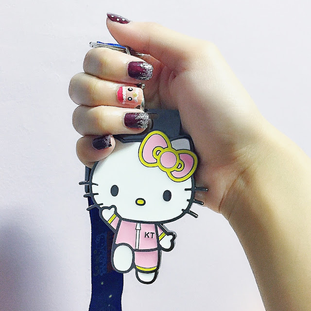 hello kitty 2015 run medal
